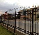 Wrought Iron Garden Fences Code: TDK-11