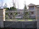 Wrought Iron Garden Fences Code: TDK-14
