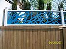 Wrought Iron Garden Fences Code: TDK-24