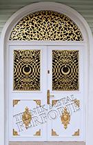 Laser-cut Wrought Iron Door Code:TBK-01