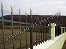 Wrought Iron Garden Fences Code: TDK-16