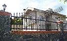 Wrought Iron Garden Fences Code: TDK-18