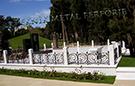 Wrought Iron Garden Fences Code: TDK-20