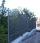 Wrought Iron Garden Fences Code: TDK-09