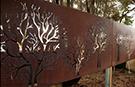Wrought Iron Garden Fences Code: TDK-36