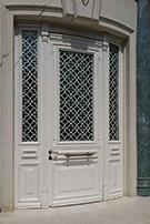 Laser-cut Wrought Iron Door Code:TBK-58