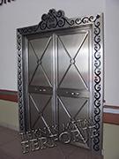 Laser-cut Wrought Iron Door Code:TBK-59