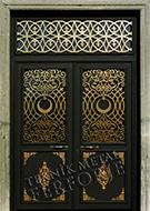 Laser-cut Wrought Iron Door Code:TBK-06
