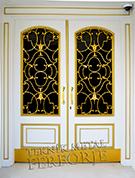 Laser-cut Wrought Iron Door Code:TBK-17