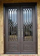 Laser-cut Wrought Iron Door Code:TBK-24