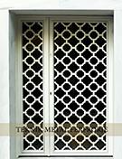 Laser-cut Wrought Iron Door Code:TBK-41