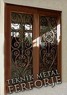 Laser-cut Wrought Iron Door Code:TBK-21