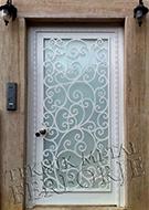 Laser-cut Wrought Iron Door Code:TBK-55