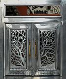 Laser-cut Wrought Iron Door Code:TBK-45