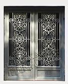 Laser-cut Wrought Iron Door Code:TBK-83