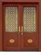 Laser-cut Wrought Iron Door Code:TBK-23