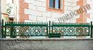 Wrought Iron Garden Fences Code: TDK-40
