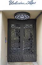 Laser-cut Wrought Iron Door Code:TBK-74