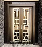 Laser-cut Wrought Iron Door Code:TBK-32