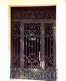 Laser-cut Wrought Iron Door Code:TBK-84