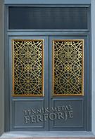 Laser-cut Wrought Iron Door Code:TBK-33