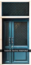 Laser-cut Wrought Iron Door Code:TBK-15