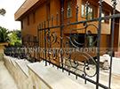 Wrought Iron Garden Fences Code: TDK-25
