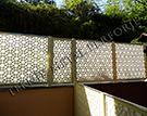 Wrought Iron Garden Fences Code: TDK-45