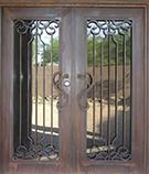 Laser-cut Wrought Iron Door Code:TBK-46