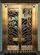 Laser-cut Wrought Iron Door Code:TBK-85