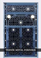 Laser-cut Wrought Iron Door Code:TBK-86