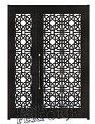 Laser-cut Wrought Iron Door Code:TBK-37