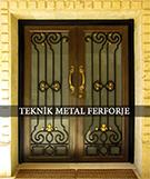 Laser-cut Wrought Iron Door Code:TBK-87