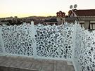 Wrought Iron Garden Fences Code: TDK-37