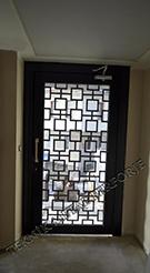 Laser-cut Wrought Iron Door Code:TBK-77
