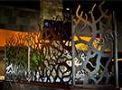 Wrought Iron Garden Fences Code: TDK-38