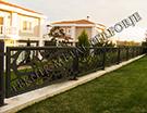 Wrought Iron Garden Fences Code: TDK-44