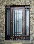 Laser-cut Wrought Iron Door Code:TBK-27