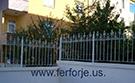 Wrought Iron Garden Fences Code: TDK-12