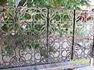 Wrought Iron Garden Fences Code: TDK-23
