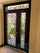 Laser-cut Wrought Iron Door Code:TBK-80
