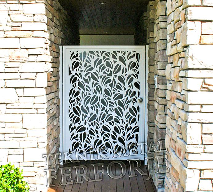 Ferforje bahçe kapilari ferforje bahçe giriş kapıları 001