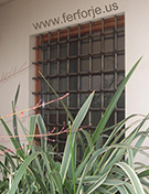 cami topuzlu pencere demiri teknik metal kod: TPD-05