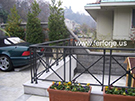 Ferforje dovme demir balkon korkuluk Modelleri kod: TBL-16