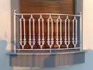 Balkon korkuluk Modeli aluminyum dokum kod: TBL-32