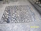 lazer kesim perfore desenler teknik metal kod: TKM-10