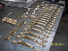 lale motifli kapi kollari teknik metal kod: TKR-11