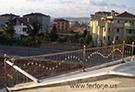 Balkon korkuluk modeli Paslanmaz x princ kod: TBL-10