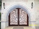 Ferforje villa kapisi  tasarim Mustafa Turkyilmaz kod: TCZ-07
