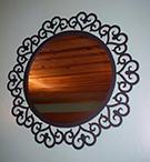 ferforje dekoratif ayna �er�evesi 016